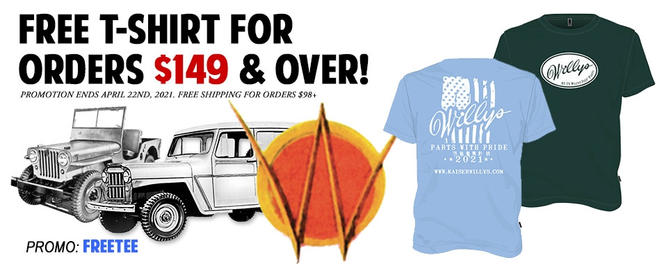 Receive a FREE T-Shirt for Orders $149 and Over!