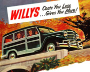 Willys Station Wagon Ad
