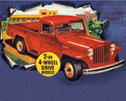 2 or 4WD Willys Truck