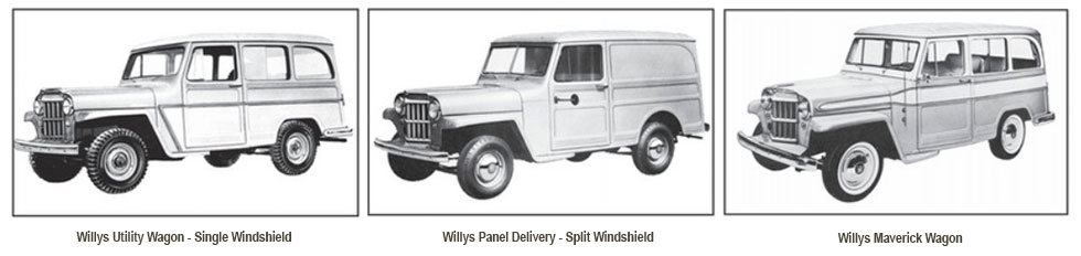 Willys Wagon Illustration